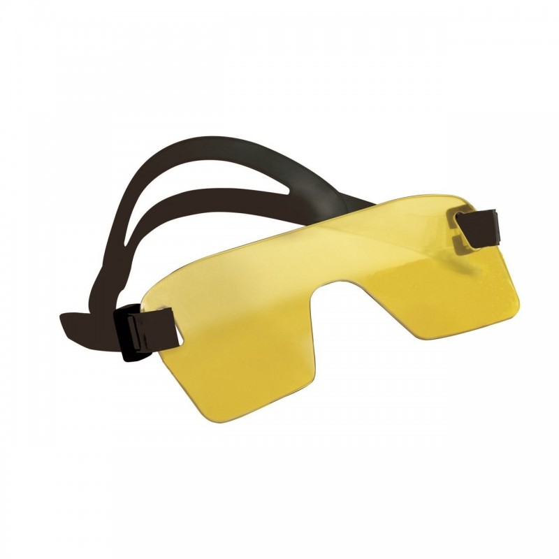 Yellow mask for fluorodiving BigBlue