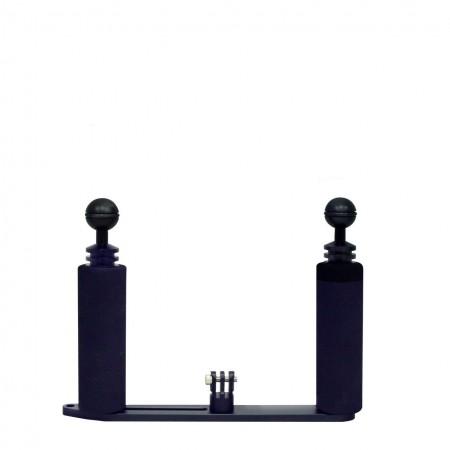 Platine avec deux poignée et fixation type GoPro BigBlue