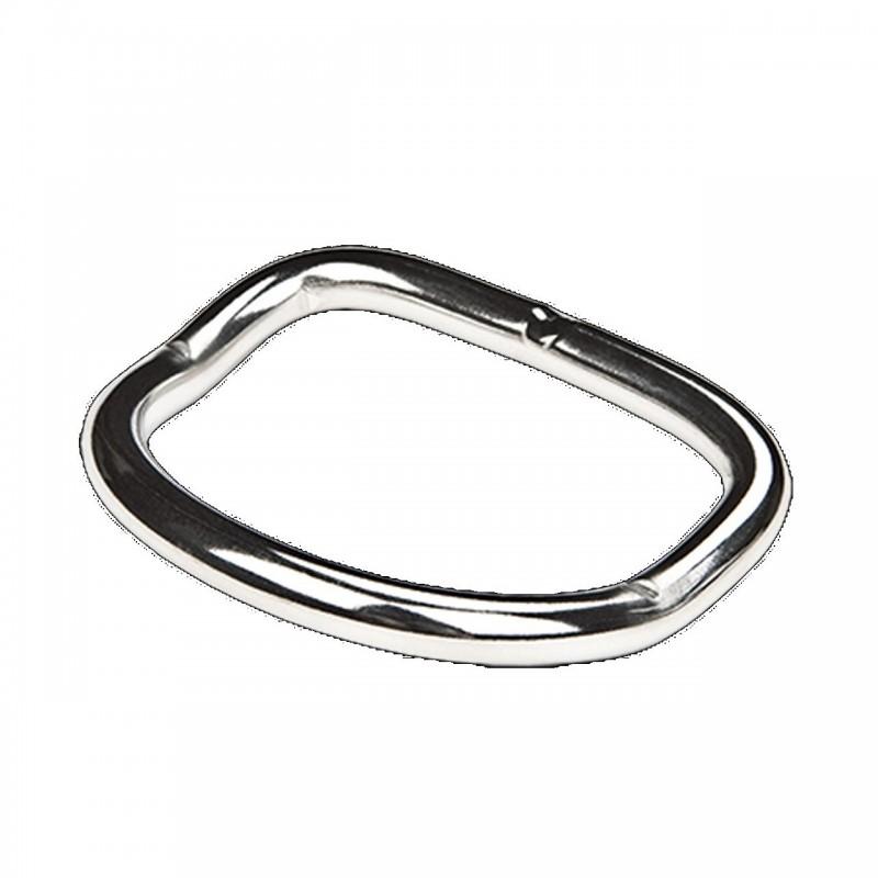 D-Ring coudé (6 mm d'épaisseur) XDeep