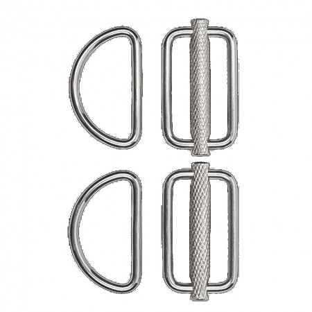 Slideable D-Ring Kit (2 pcs) XDeep