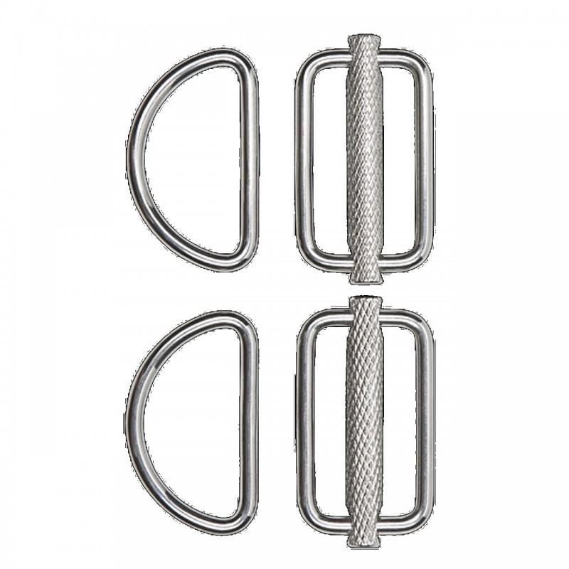 Slideable D-Ring Kit (2 pcs) XDeep