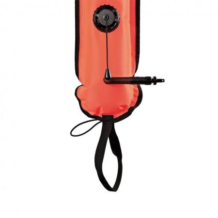 Closed Dive Alert Surface Marking Buoy - Orange - 140 cm XDeep