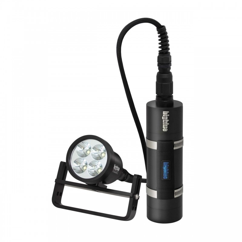 TL4800PC Slim Tech light 10° with canister BigBlue