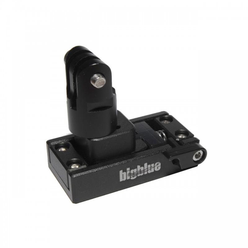 Easy release mount for GoPro, helmets & DPV BigBlue