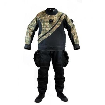 Pièce détachée - Matière Camouflage Cordura pour combinaisons de plongée XPLORER-XPEDITION
