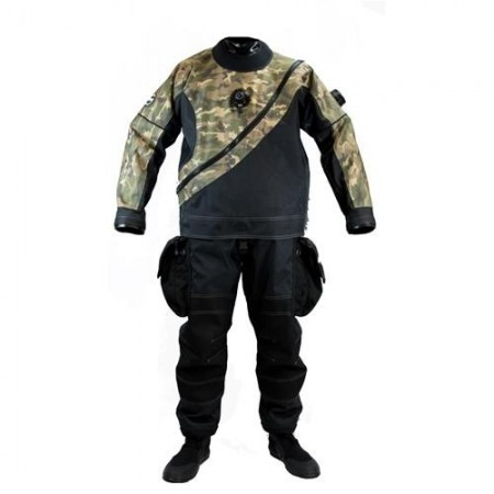 Upgrade Camouflage Cordura cover for Drysuit XPLORER-XPEDITION