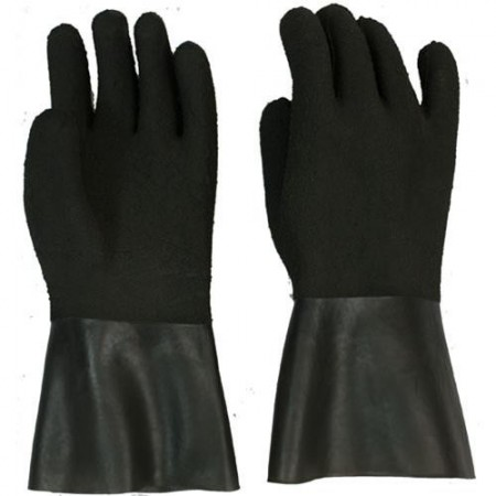 Latex DRY Glove with Reinforced Palm and Underglove