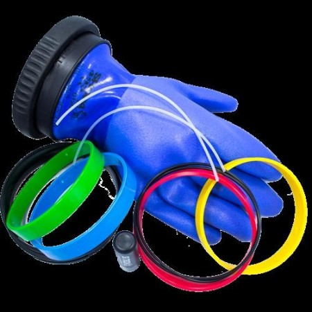 Système étanche de manchons de poignet et gants en silicone SI-TECH VIRGO