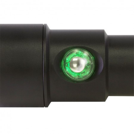 Push button with battery indicator for the BigBlue AL1200WP II light