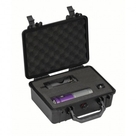 AL1800XWP II Tri Color - violette et valise de protection BigBlue