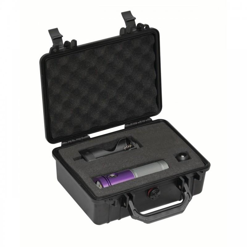 AL1800XWP II Tri Color - violette et valise de protection BigBlue