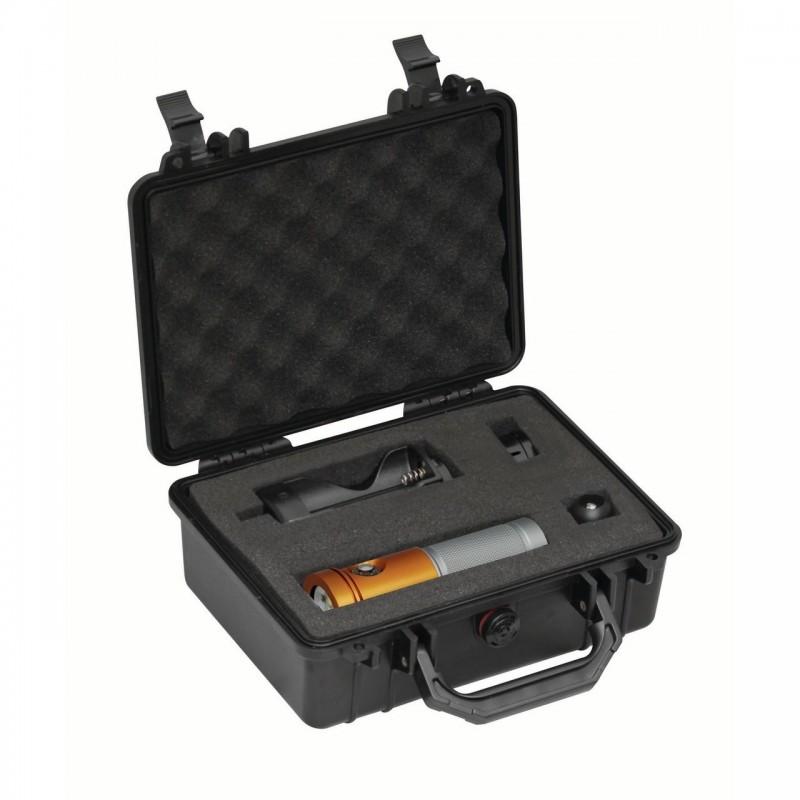 Lampe AL2600XWP II orange et valise de protection BigBlue