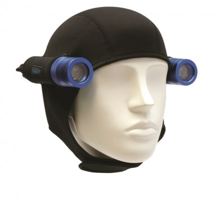 CF450 II lights x2 & double neoprene Hood BigBlue