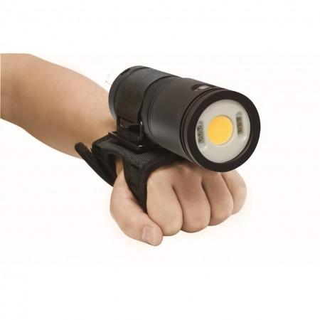 Sturdy glove with the CB6500P BigBlue light
