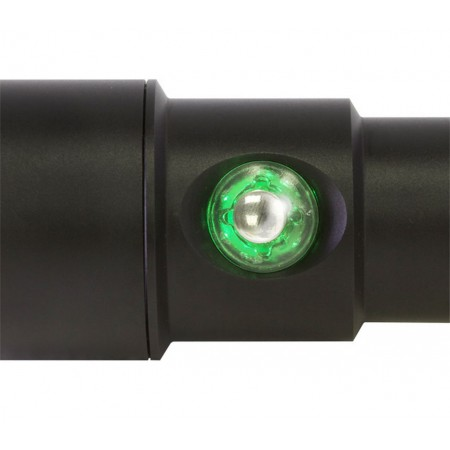 Push button with battery indicator for the AL1200XWP II BigBlue light