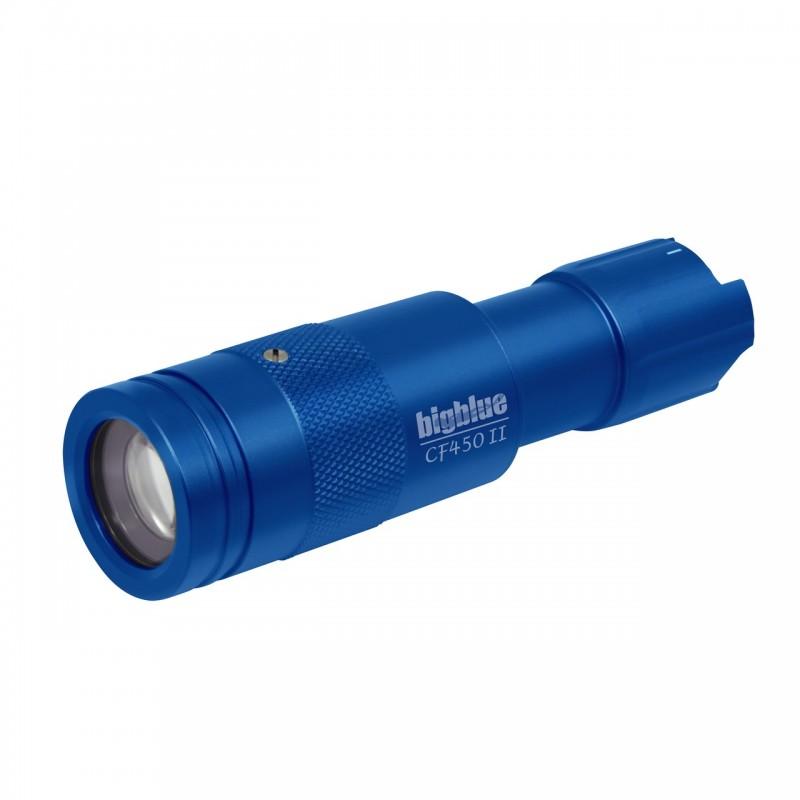 CF450 II Lampe focusable 7° à 37° bleue BigBlue