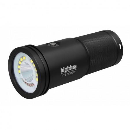 VTL8000P Lampe explo 10° et photo/vidéo 120° BigBlue