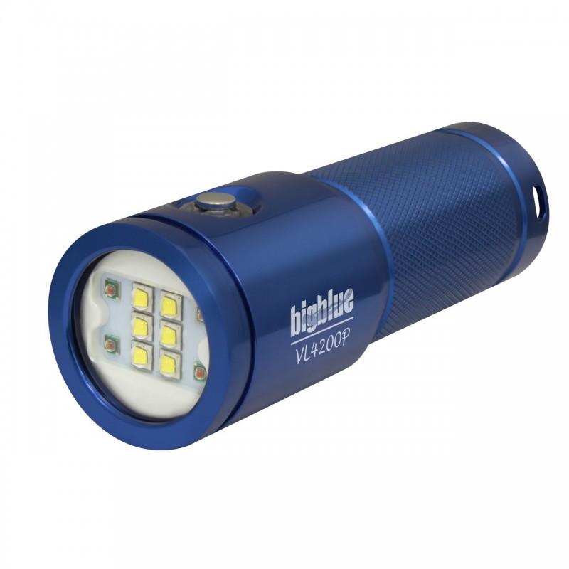 VL4200P Photo/video light 120° blue BigBlue