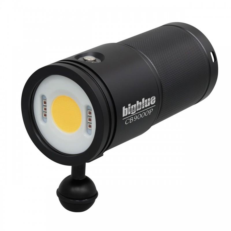CB9000P Lampe photo/vidéo 120°- CRI Ra 85 BigBlue