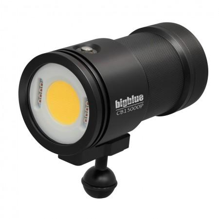 CB15000P Lampe photo/vidéo 160°- CRI Ra 85 et valise de protection BigBlue