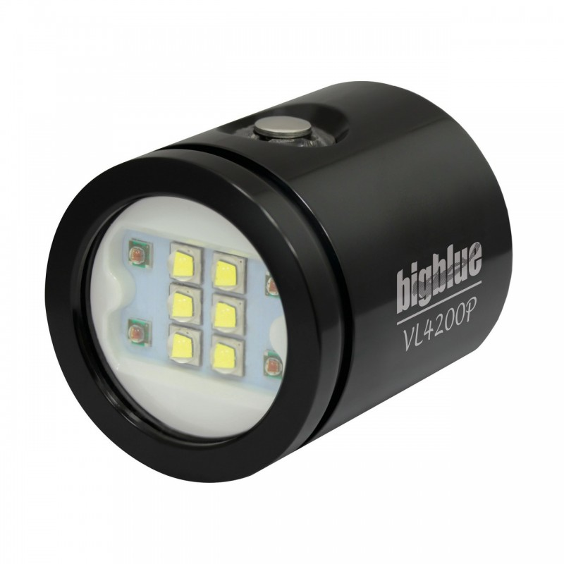 VL4200P Tête de lampe interchangeable BigBlue noir