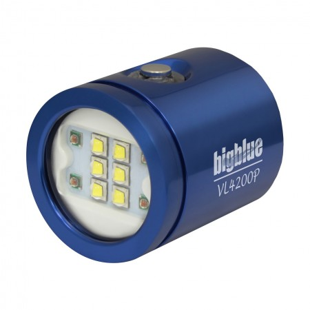 VL4200P Tête de lampe interchangeable BigBlue bleue