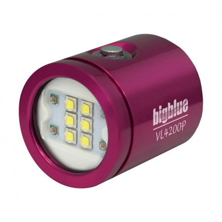 VL4200P Light head BigBlue pink