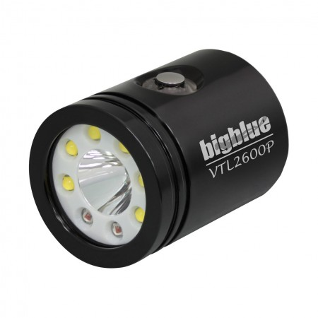 VTL2600P Light head BigBlue black