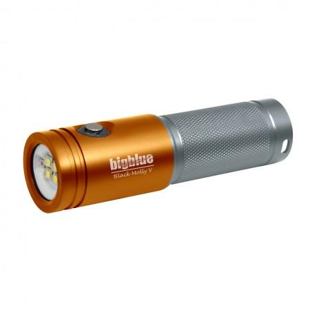 bigbluedivelights-al2600xwp -phare-de-plongee-orange