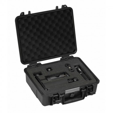 AL1800XWP II Tri Color black, prot. case & single arm tray