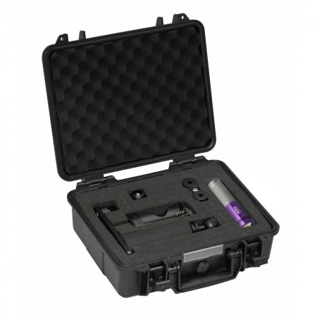 AL1800XWP II Tri Color silver/purple, prot. case & single arm tray