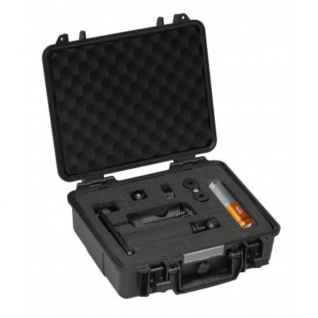 AL2600XWP II orange, prot. case & single arm tray