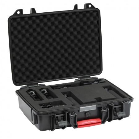 GoPro Tray Kit Set : 1x AL1200WP II, 1x AL1200XWP II, 2x double clip, 2x DA009, 1x GoPro Tray, 1x protective case