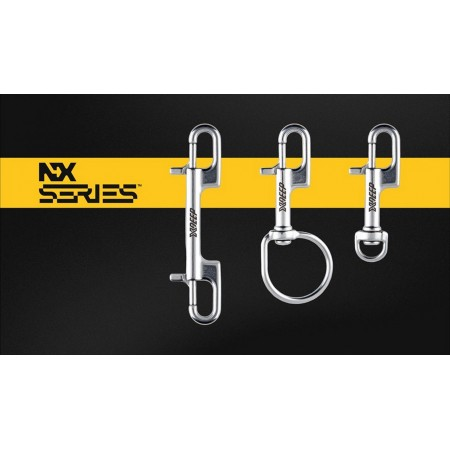 Bolt snap double ended XDeep NX Series