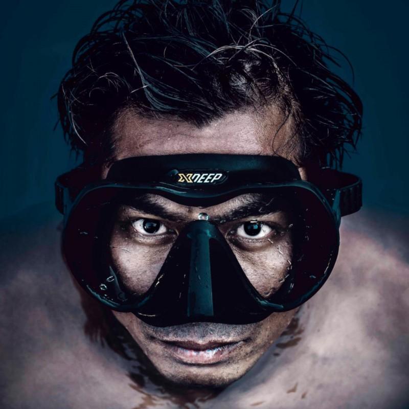 Mask Frameless XDeep black
