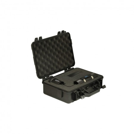 VTL8000P Backmount : Tech and Video light 10° and 120° with canister, 180° cable and protective case