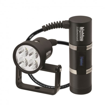 TL4800P Sidemount : Tech light 10° with canister, 90° cable and protective case