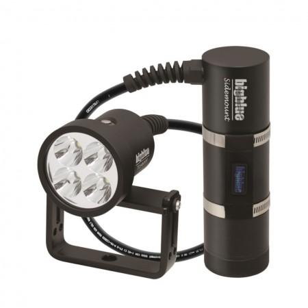 TL4800P Sidemount : Lampe technique déportée 10° avec cable à 90° et valise de protection