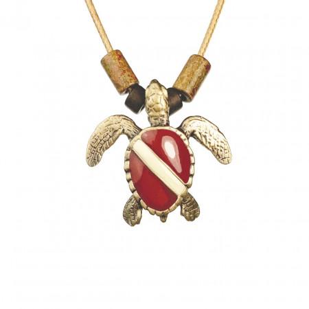 collier-tortue-de-mer-plongée-bronze-made-in-canada