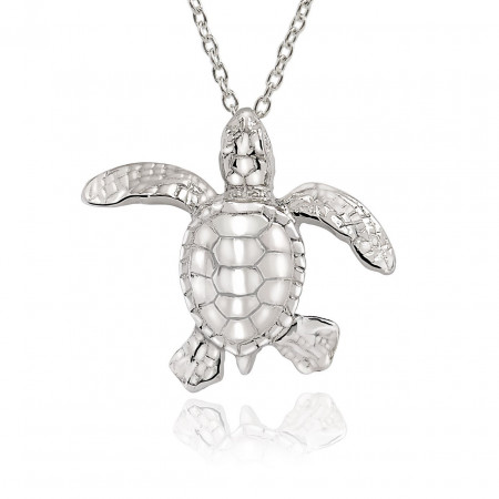 collier-argent-tortue-made-in-canada