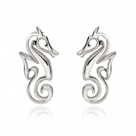 boucle-oreille-hippocampe-argent-made-in-canada