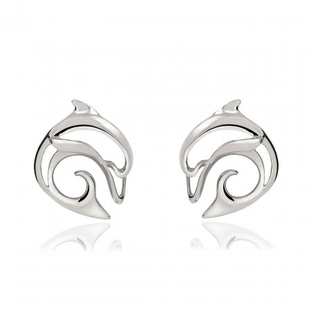 earring-dolphin-silver-made-in-canada