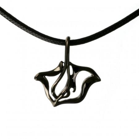 pendant-hematite-black-stingray-made-in-canada