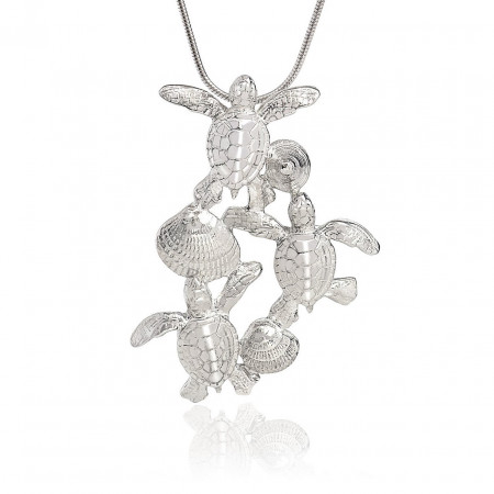 collier-argent-tortues-made-in-canada