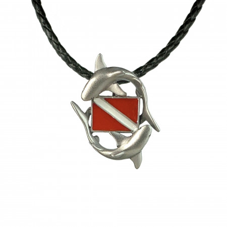 shark-dive-flag-made-in-canada-pendant