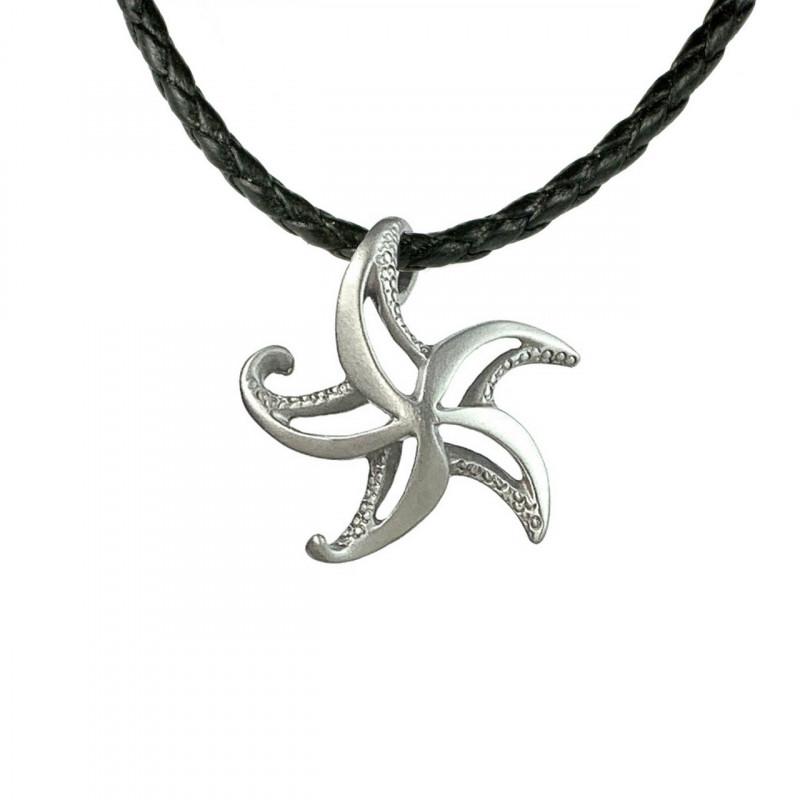 collier-etoile-de-mer-étain-made-in-canada