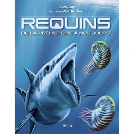 requins-de-la-prehistoire-a-nos-jours-editions-belin-livre-biologie